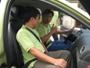 Học lái xe ô tô tại TRung tâm Vietcar