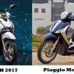 Top 6 Mẫu Xe Máy Mới Tại Hà Nội Dành Cho Phái Đẹp 2017
