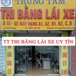 Đăng kí thi bằng lái xe tại 42 Giải Phóng Hà Nội