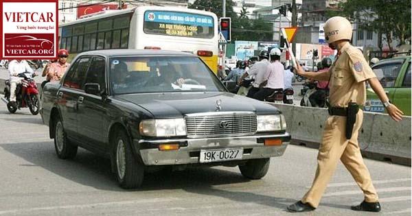 Mức phạt vi phạm giao thông